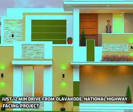 National Highway Facing Project / Double Floor Villas For Sale