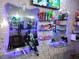 Hair Saloon setup for sale
