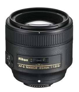Nikon lense 85 mm