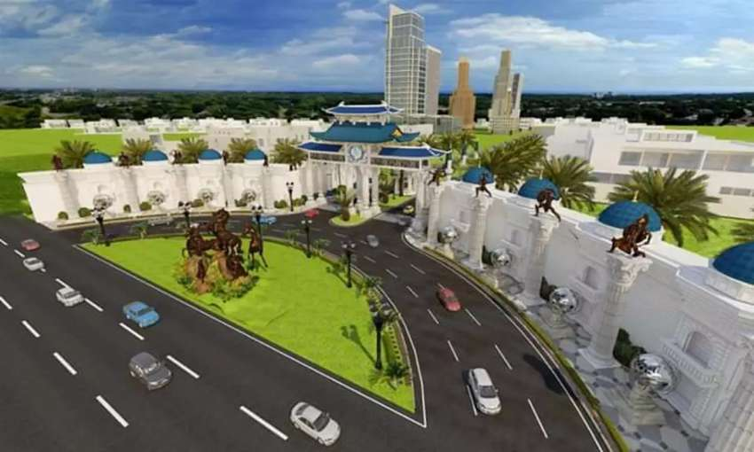 5 marla plot file for sale in blue world city islamabad 0