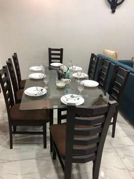 Dinning Table - Eight Chairs