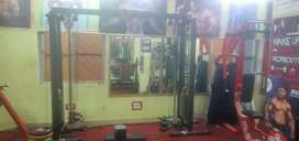 The Indian gym full set-up