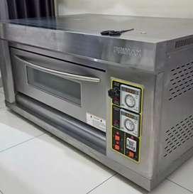 Oven gas listrik 1 deck 2 loyang primax murah