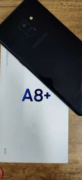 Samsung A8+ (4+64Gb) - Like New Condition Phone