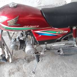 Honda Cd 70 at their best genuine codition