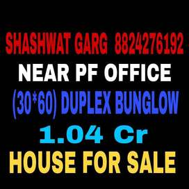 30*60 Near PF Office Duplex Bungalow For Sale