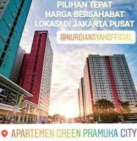[JUAL-BELI-SEWA] Green Pramuka City Sewa Tahunan 2BR Fully Furnished