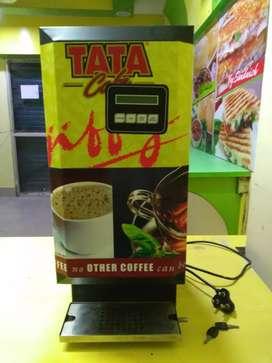 TATA tea and coffee vending machine