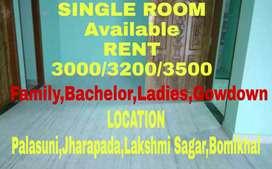 Single Room(3000/3200/3500) House Available Palasuni To Chintamanisor