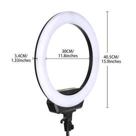 30 cm ring light with tripod stand