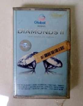 kaset pita DIAMONDS II, kompilasi, original segel