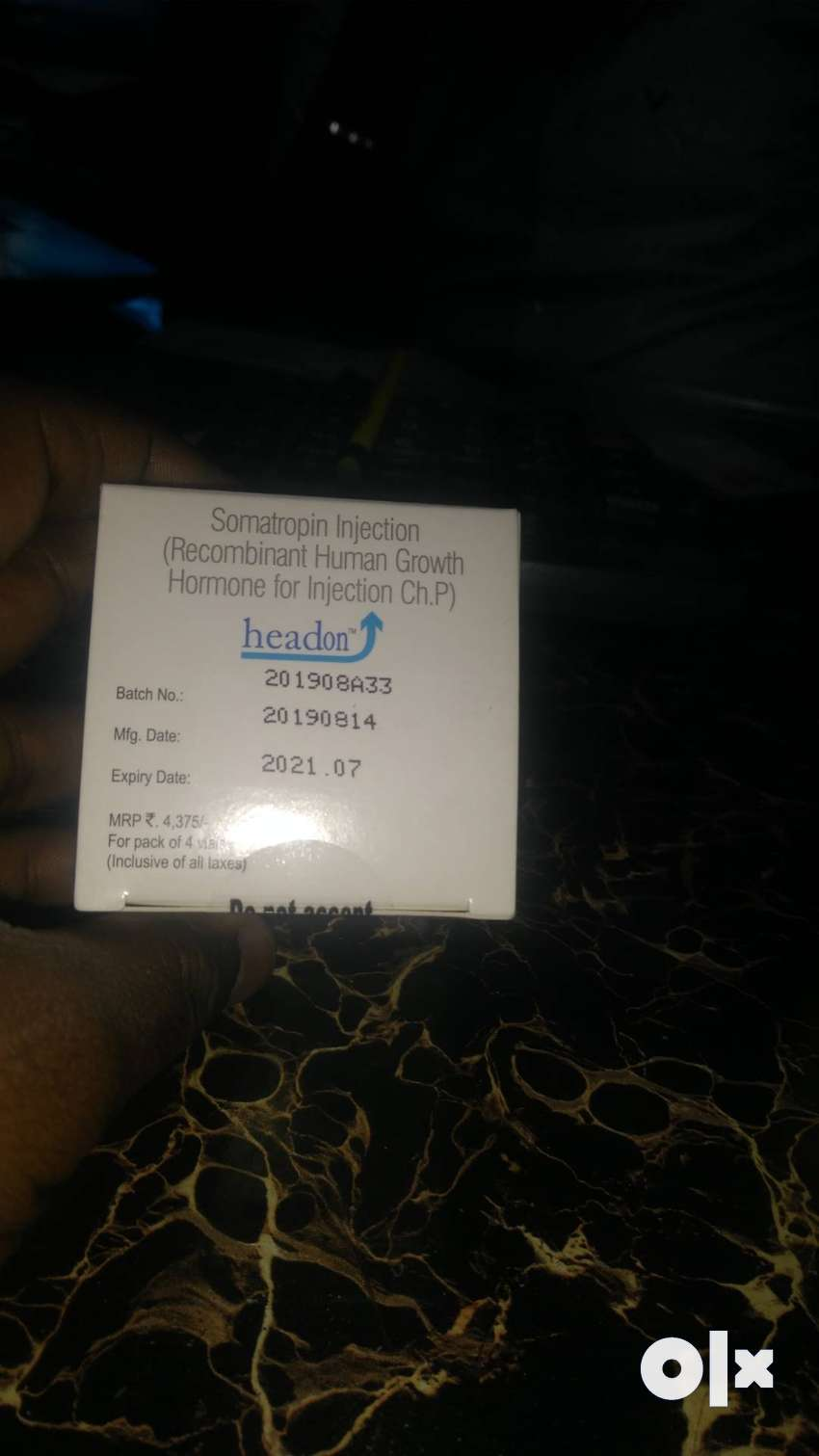 HGH GROWTH HORMONE SOMATROPIN 0
