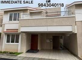 Casagrand 4bhk New Individual Villa 2485 sqft.