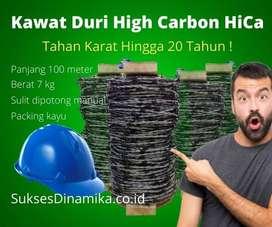 Jual Kawat Duri Bezinal 2000 High Carbon 100 meter