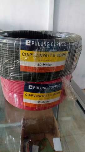 Kabel pulung copper 1.5 sqmm