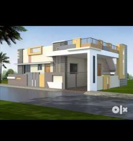 Corner sided, East facing, vastu considered house for sale.