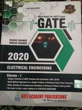 GATE BOOKS(VOL-1 & VOL-2) 2020 Edition