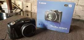canon sx 150 is