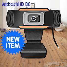 Webcam / Web Camera Autofocus Full HD 1080P
