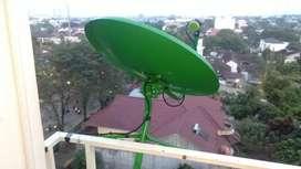 Antena parabola mini Optus HD by K-Vision Siaran gratis selamanya
