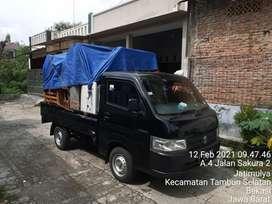 Jasa Angkut pindahan dan kirim barang pakai pick up/van murah