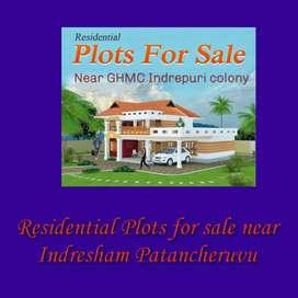 Residential HMDA plots for sale Patancheruvu, Near Indresham