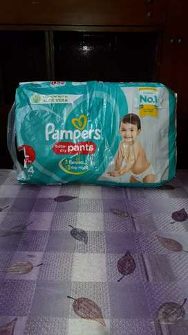 Pampers baby dry pants 44 pcs