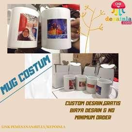 MUG Custom Bebas Desain
