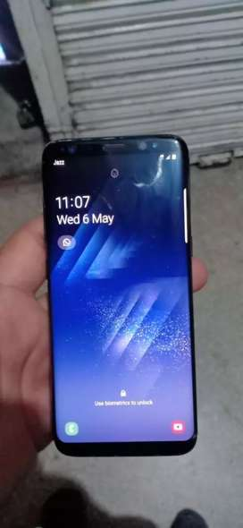 S8 PTA Dual Sim with original box, original charger and handfree