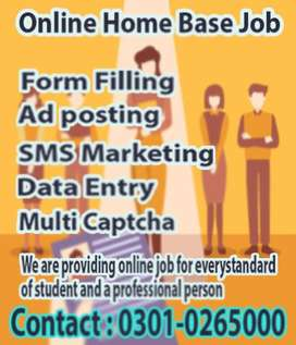 We provide simple typing online job to earn extra income at home