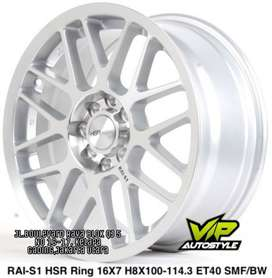 Pelek Racing Murah RAI S1 Ring 16x7 hole 8x100-1143