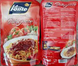 La Fonte Saus Pasta Bolognese Beef 315 gr