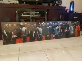Jual poster Nike legend frame lukisan