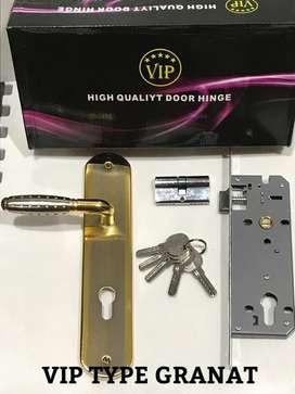 Pintu Kunci Rumah Merek VIP Besar dan Sedang pcs