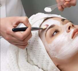 Advanced facials, basic facials, golden facials, anti ageing facials,