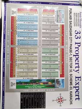 PS City Phase 1 West Open Plot available