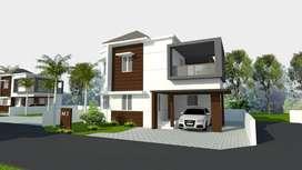 Last few units for sale   3 BHK Budget villas VAniyamkulam Town