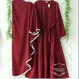 long gamis dress syari babay