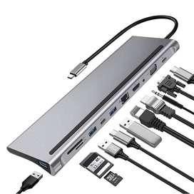 11 in 1 USB C Dock Hub