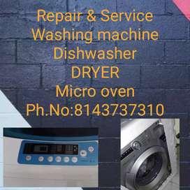 Repair & Service IFB washing machine, Dishwasher, DRYER & Micro oven