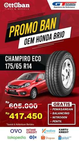 Promo Ban Gt Radial Champiro  Eco 175 65 14 OEM Honda Brio