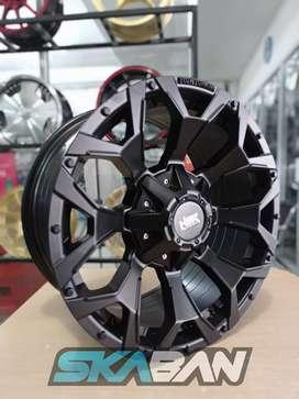 jual hsr wheel type goku ring 18x9 h6(139,7) di ska ban pekanbaru