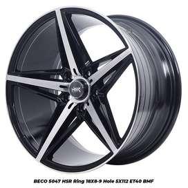 Velg Mobil Mercy, Civic New dll BECO 5047 FC HSR R18X8-9 H5X112 ET40 B