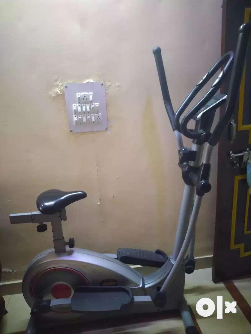 Excercise bike cum cross trainer 0