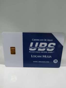 Logam Mulia Emas UBS 0,5 Gram