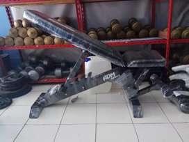 Dijual alat fitnes adjustable bench