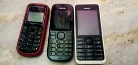 Mobiles for sale no battery and small problems