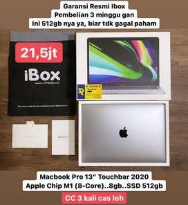 "Macbook Pro 13"" M1 Touchbar garansi ibox"