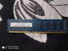 Hynix 1 GB PC3 - 10600U -9-10-A0 DDR3