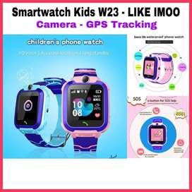 Smartwatch kids sos w23 - Jam Pintar anak bisa telepon